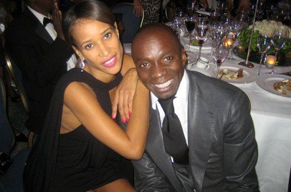 Thandi Ojeer et Claude Makelele