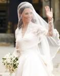 Arrivée de Kate Middleton à Westminster