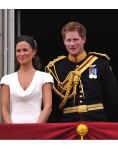 Harry et Pipa Middleton à Buchkingham Palace