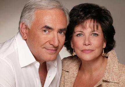 Dominique et Anne Strauss-Kahn