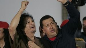 Kadhafi et Chavez