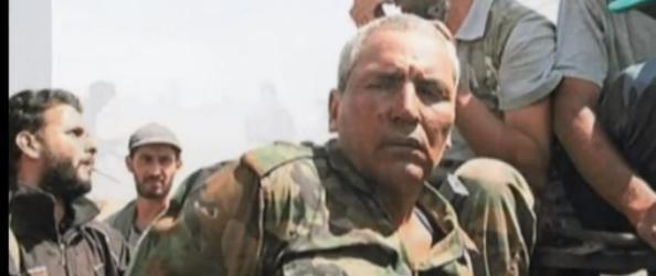 Visage d'un des mercenaires arrêtés par l'armée libyenne