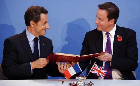 Sarkozy et Cameron