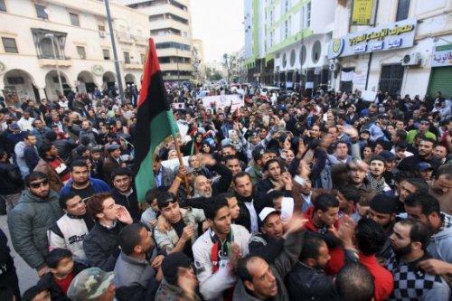 Benghazi après la mort du frère Guide Mouammar Kadhafi