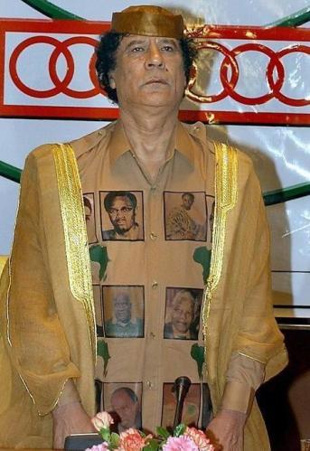 Kadhafi le panafricain