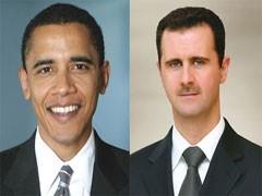 Obama et Assad