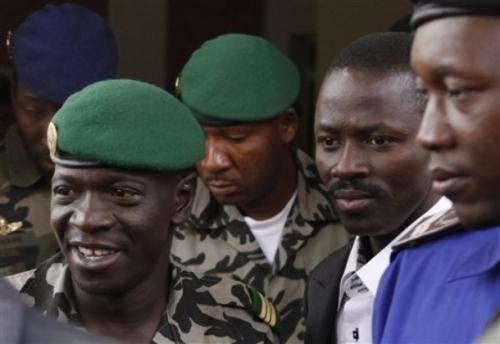 Le capitaine Amadou Sanogo Haya