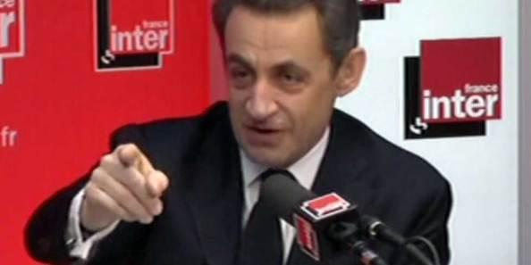 Nicolas Sarkozy à France Inter (17 avril 2012)