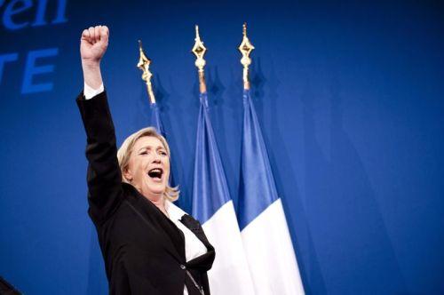 Marine Le Pen? Paris, le 22 avril 2012