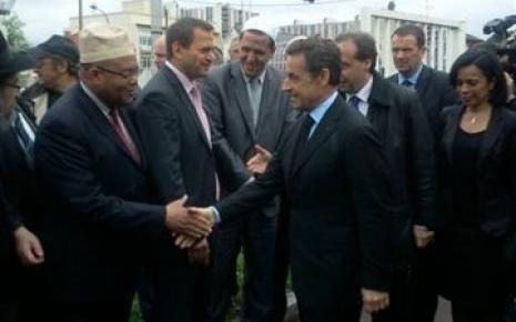 Nicolas Sarkozy à Drancy