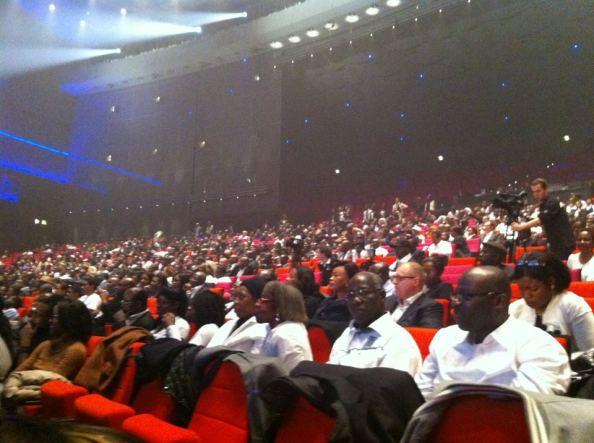 Plus de 4000 personnes au Palais des Congrès de Paris (14 avril 2012)