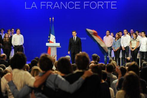 Nicolas Sarkozy à Toulouse (29-04-2012)
