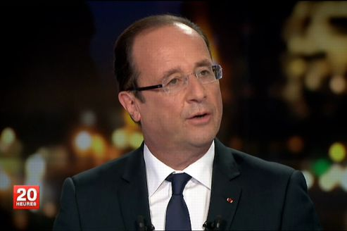 Flamby, hier, sur France 2