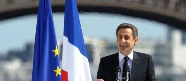 Nicolas Sarkozy au Trocadero ( Paris, 1er mai 2012)