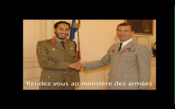 Le colonel Saadi Kadhafi