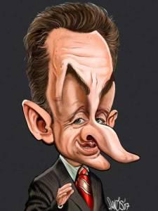 Nicolas Sarkozy (caricature)