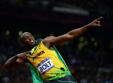 """Usain """"100 000 Volt"""" Bolt"""