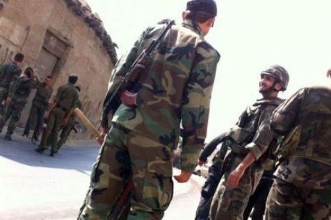 Militaires syriens, hier, 4 août, à Damas