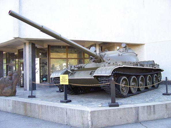 Char d'assaut de type T-62