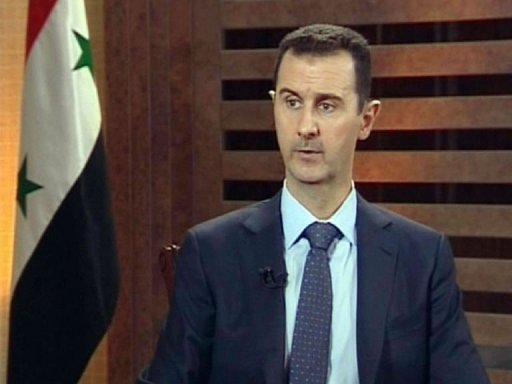 Bachar Al-Assad, capture d'écran Addounia TV