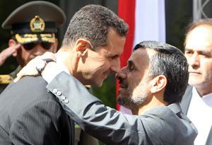 Assad et Ahmadinejad