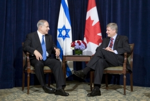 Netanyahu et Harper