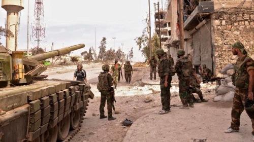 L'armée à Homs aujourd'hui