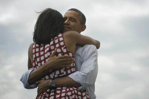 Première photo Barack et Michelle Obama