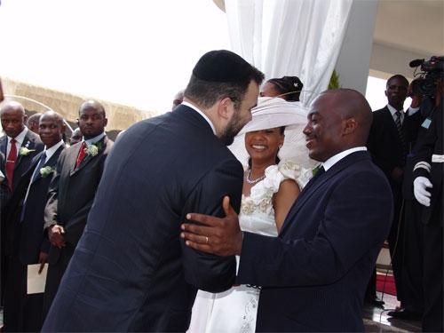 Dan Gertler et Joseph Kabila