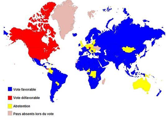 Vote à l'ONU