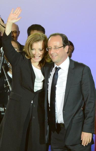 Francois Hollande et Valerie Trierweiler. Credits Photo : Pascal Le Segretain/Getty Images Europe