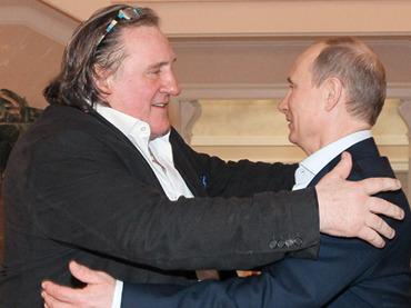 Poutine et Depardieu
