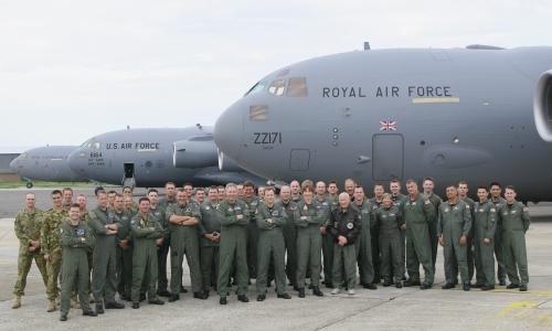 RAF C-17 Globemaster