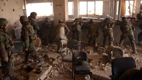 Opération de l'armée syrienne