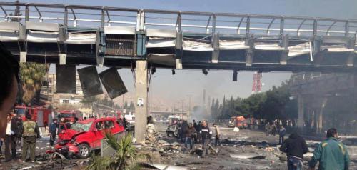 Pont d'al Hayat après l'attentat