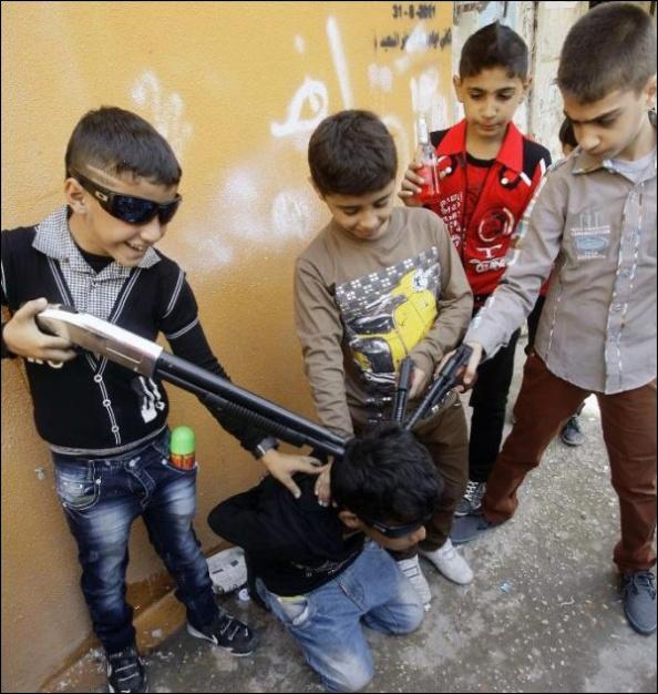 Enfants soldats de l'ASL