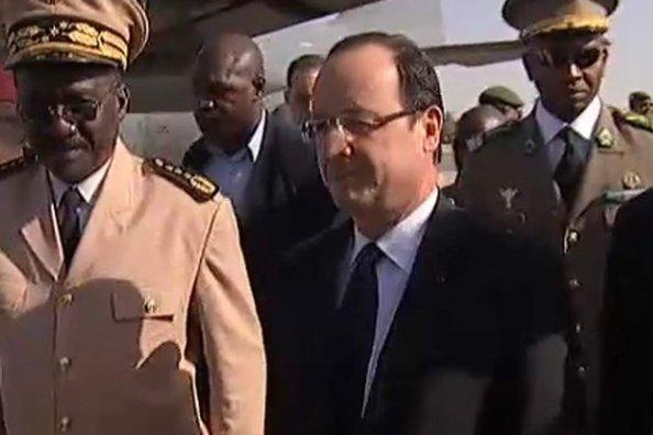Hollande au Mali /© Capture I>télé