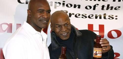Holyfield et Tyson