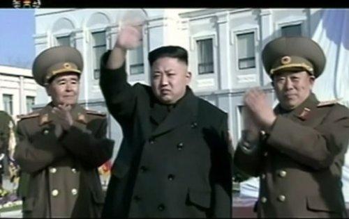 Kim Jong-un, Président du Comité de défense Secrétaire général du Parti
