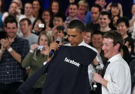 Obama et Zuckenberg