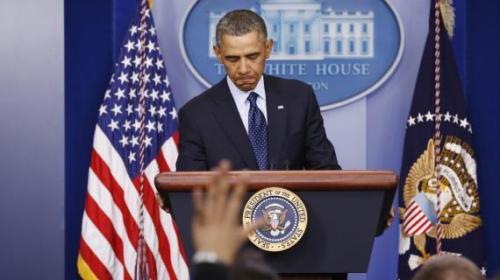 Barack Obama, hier, à la Maison Blanche