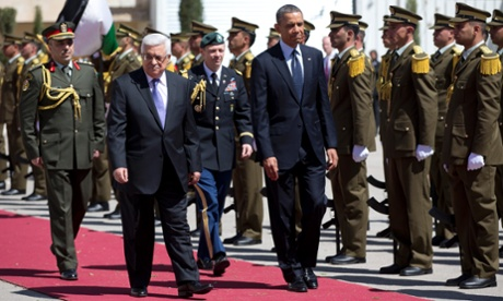 Mahmoud Abbas et Barack Obama