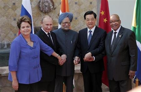 Les 5 dirigeants du BRICS