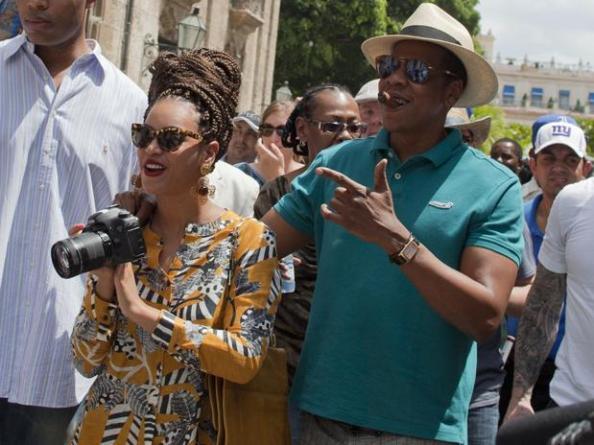 Beyonce et Jay-Z  à La Havane (Cuba)