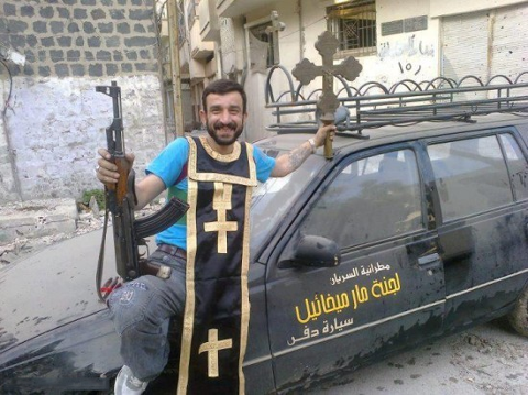 Un terroriste vole les biens de l'Eglise