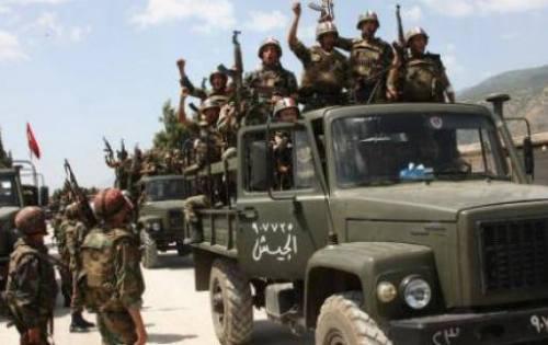 Armée syrienne à al-Qusseir