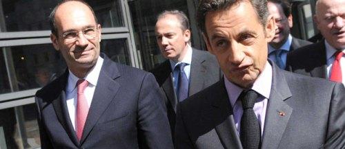 Eric Woerth et Nicolas Sarkozy