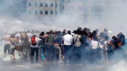 Gaz lacrimogène