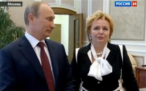 Vladimir et Lyudmila Poutine