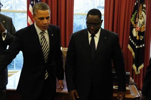 Barack Obama et Macky Sall